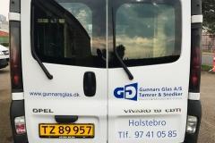 Varebil - Gunnars Glas