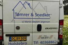 Varebil - Mejdal tømrer